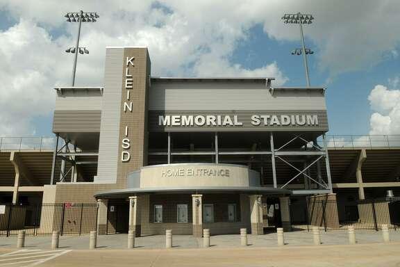 Klein ISD Memorial Stadium is part of the Klein High School campus.