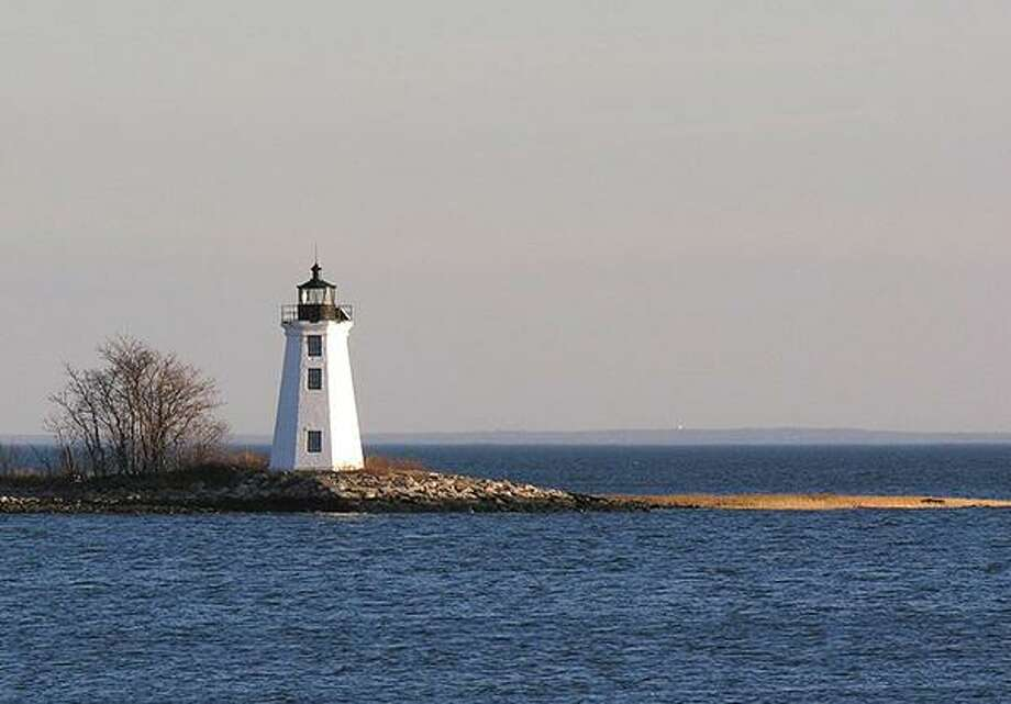 The Black Rock Harbor Light, also known as the Fayerweather Lighthouse, on Wednesday, Sept. 19, at the Fairfield Museum's next History Bites Lunchtime Lecture. Photo: Contributed Photo