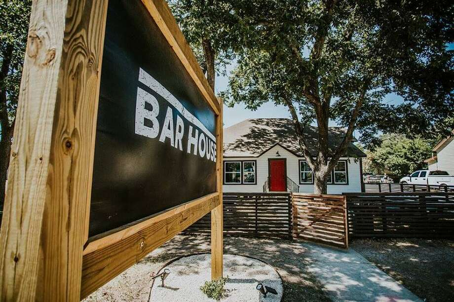 The Bar House is located at 533 Main St. in Schertz, and is celebrating its grand-opening this weekend. The bar is designed with re-claimed wood and materials from the original 1930s home it occupies. Photo: The Bar House