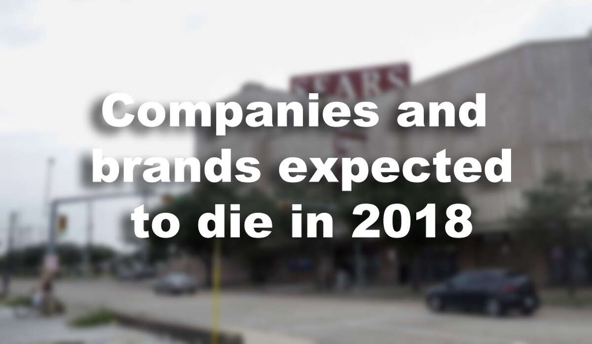 Companies and brands expected to die in 2018.