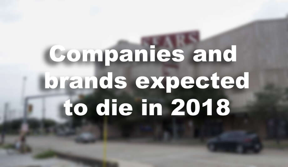 Companies and brands expected to die in 2018. Photo: Melissa Phillip, Staff