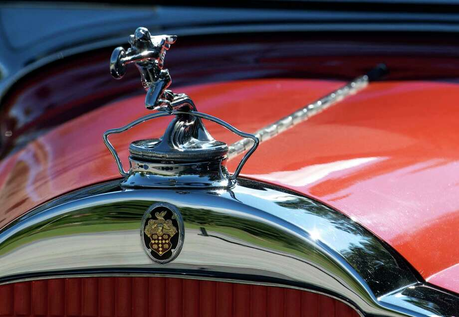 A vintage Packard arrives for the 12th Annual Hemmings Motor News Concours D'Elegance Friday Sept. 14, 2018 in Lake George, N.Y. A rally will take place today and with the Concours show on Saturday and the judging will take place on Sunday Sept. 16th.   (Skip Dickstein/Times Union) Photo: SKIP DICKSTEIN, Albany Times Union