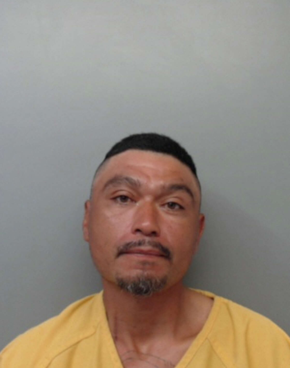 Rosendo Inocencio, 38, was charged with robbery.