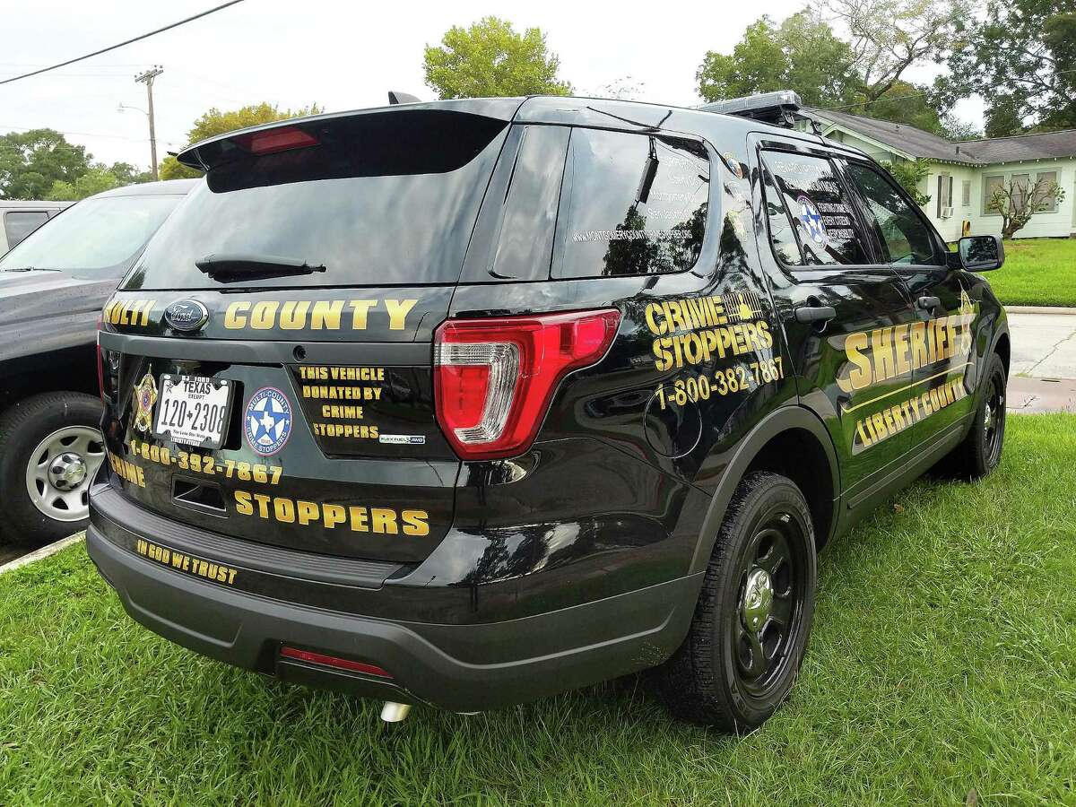 The Liberty County Sheriff's Office was donated a2018 Ford SUV Explorer by the Multi-County Crime Stoppers organization located in Montgomery County.