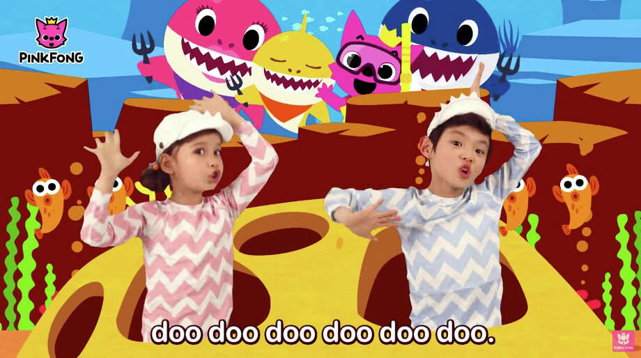 "An image from the viral children's video ""Baby Shark,"" which has become a global phenomenon. Photo: Pinkfong / Pinkfong"