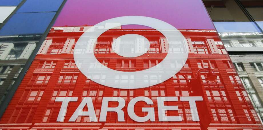 "The logo of Target Corporation ""TGT"" is seen on one of its branches in Manhattan on May 21, 2018, in New York. Target Corporation is the second-largest discount store retailer in the United States. (Photo by Eduardo Munoz Alvarez/VIEWpress/Corbis via Getty Images) Photo: VIEW Press / 2018 VIEWpress"