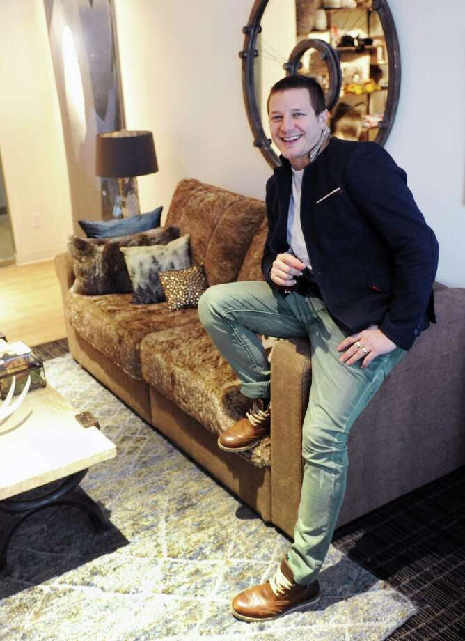 Shawn Nelson is founder and CEO of Stamford-based furniture retailer Lovesac, which became a publicly traded company in June 2018. Photo: Tyler Sizemore / Tyler Sizemore / Greenwich Time