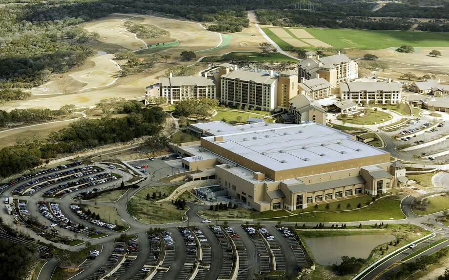 The JW Marriott of San Antonio Hill Country Resort and the TPC San Antonio golf course are seen on Jan. 16, 2010. Photo: Billy Calzada /Staff File Photo / gcalzada@express-news.net