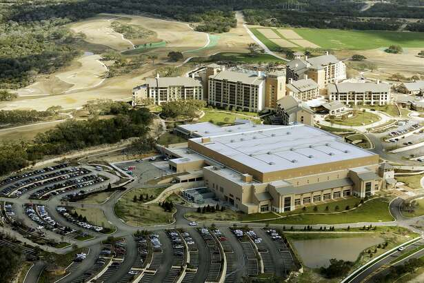 The JW Marriott of San Antonio Hill Country Resort and the TPC San Antonio golf course are seen on Jan. 16, 2010.