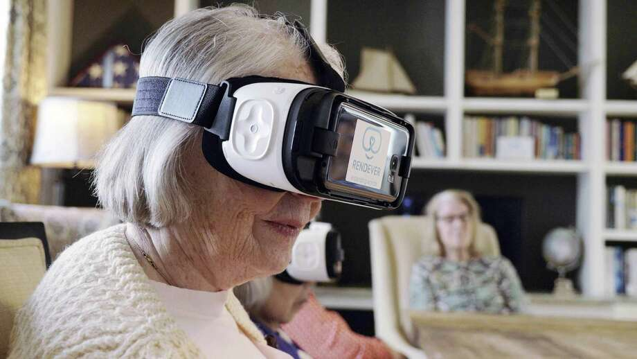 In an effort to improve quality of life for residents, Maplewood Senior Living is incorporating a string of technology, including virtual reality equipment, into recreation and therapy uses. Photo: Contributed Photo / Contributed Photo / Connecticut Post Contributed