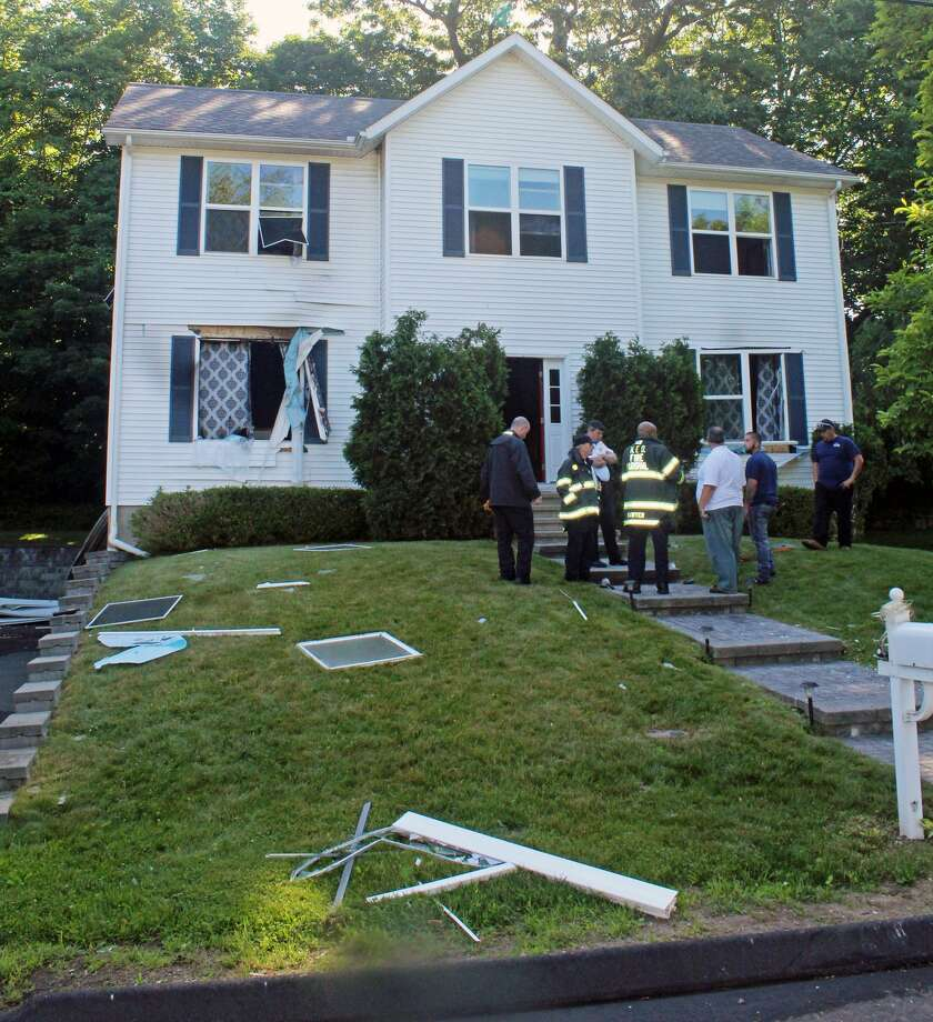 On June 12, 2018, a gas explosion badly damaged a home on Deepwoods Lane in Norwalk. No one was injured in the incident but, one of the residents was a woman who was five months pregnant. Photo: Thane Grauel / Hearst Connecticut Media / Connecticut Post