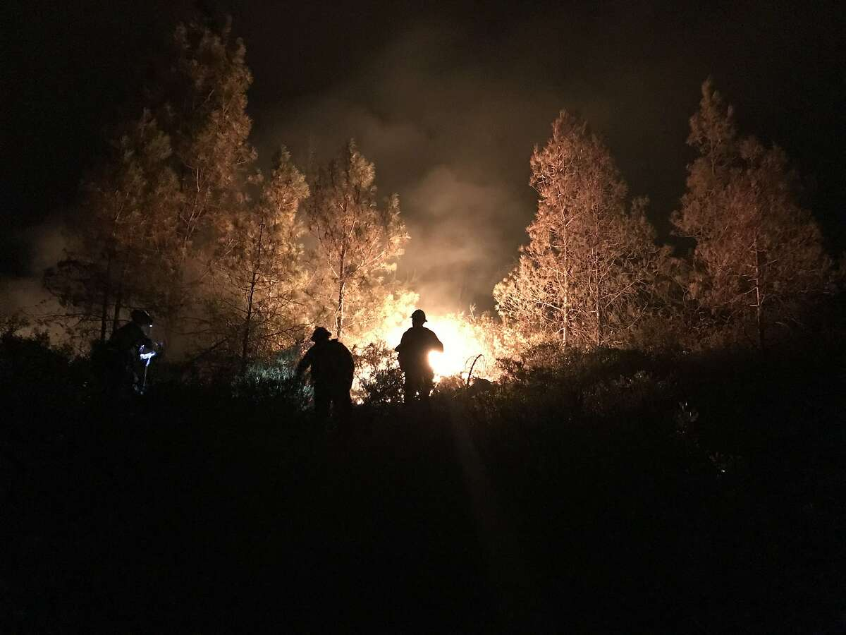 Matthew Burchett, 42, of the Draper City Fire Department was killed while fighting on the front lines of the Mendocino Complex, authorities said.