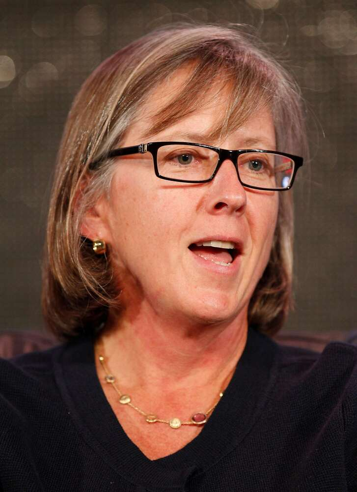 Mary Meeker, partner at Kleiner Perkins Caufield & Byers, speaks at the Web 2.0 Summit in San Francisco, California, U.S., on Tuesday, Oct. 18, 2011. The conference brings together 1,000 senior executives from the worlds of technology, media, finance, telecommunications, entertainment, and the Internet. Photographer: Tony Avelar/Bloomberg *** Local Caption *** Mary Meeker
