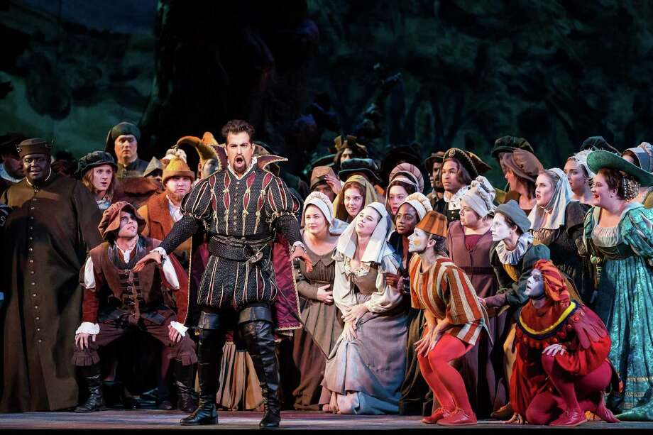 "Opera San Antonio's spring 2019 production will be ""Faust,"" with sets and costumes from the 1986 Houston Grand Opera production. Photo: Lynn Lane /Houston Grand Opera / Lynn Lane"