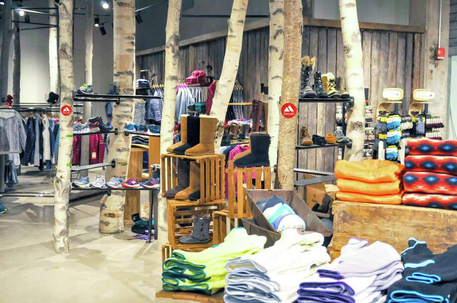 The interior of the Denali outdoor retail store in Trumbill Photo: Contributed Photo