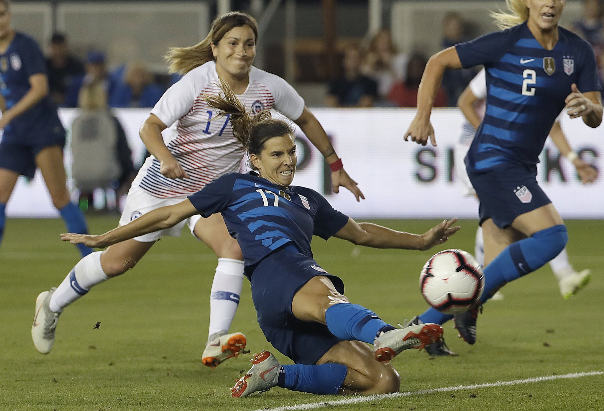 e6085062592 U.S. midfielder Tobin Heath s time is here with World Cup looming - SFGate