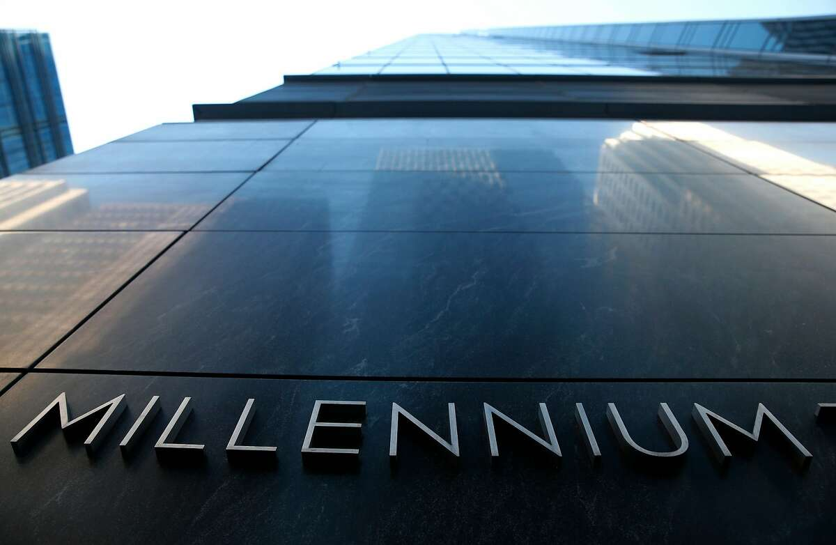 The Millennium Tower building is at Fremont and Mission streets in San Francisco, Calif. on Tuesday, March 27, 2018. Engineers may begin preliminary work soon to stabilize the sinking and leaning Millennium Tower.