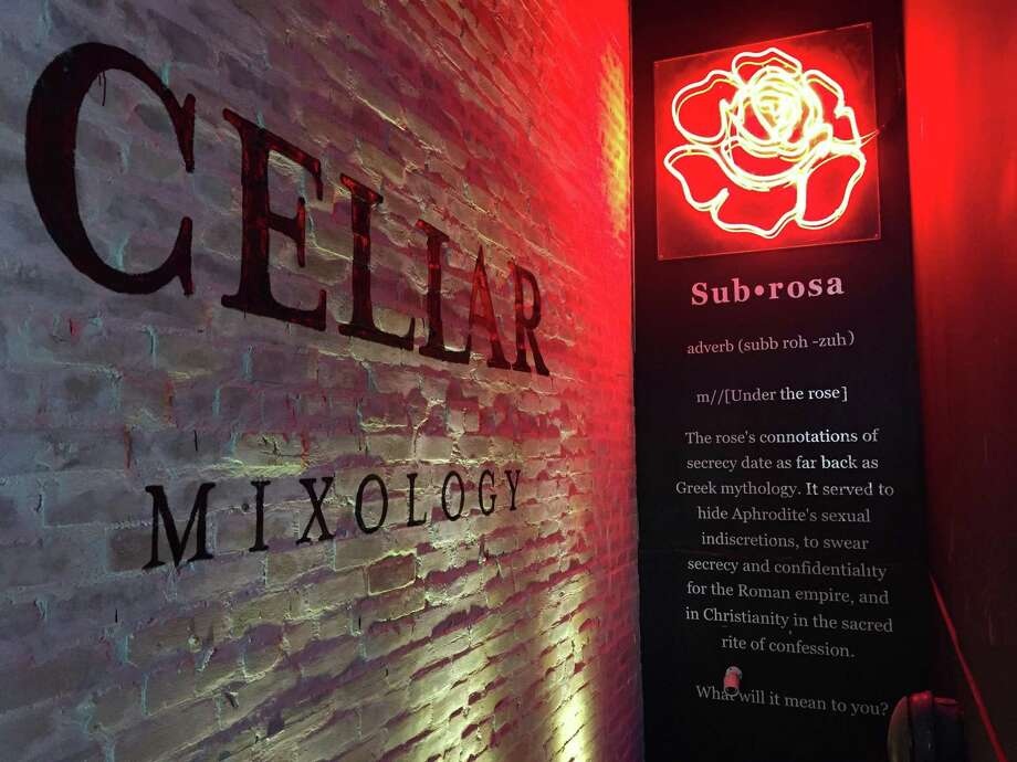 Cellar Mixology is located below Toro Kitchen + Bar at 1142 E. Commerce St. in St. Paul Square. Photo: Paul Stephen / Staff