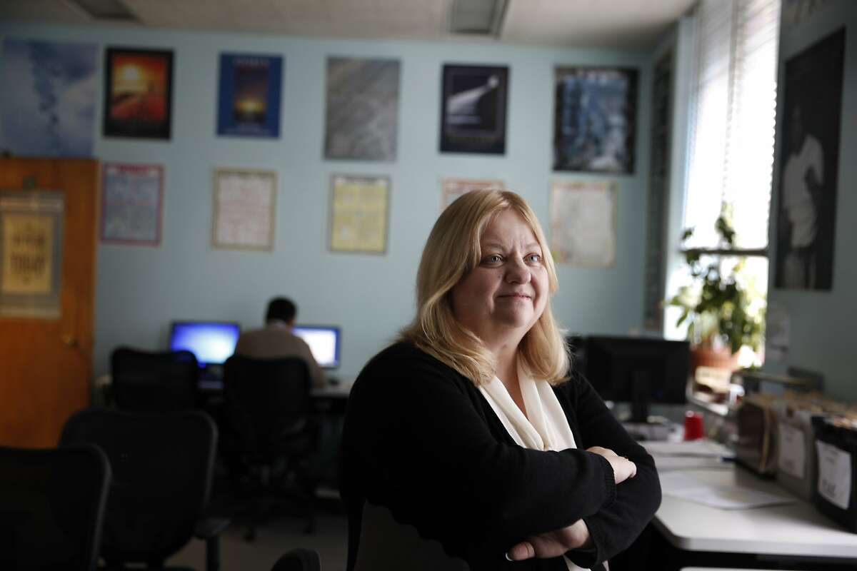 Wendy Still, San Francisco Chief Adult Probation Officer, stands for a portrait in the Adult Probation 5 Keys Charter School Learning Center on Wednesday, December 17, 2014 in San Francisco, Calif.