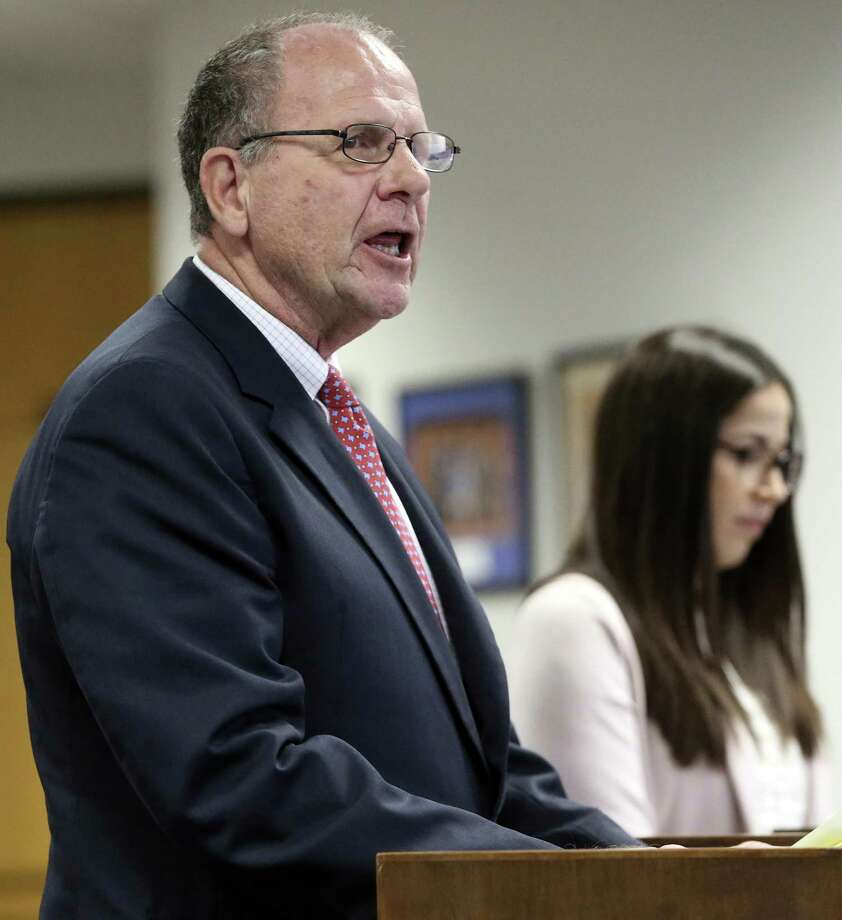 U.S. Rep.Ted Poe, R-Houston, supports the traditional description of Alamo defenders to the State Board of Education on Tuesday. The Alamo defenders' decision doesn't really sink in until you're old enough to comprehend what it meant. Photo: Tom Reel / Staff Photographer / 2017 SAN ANTONIO EXPRESS-NEWS