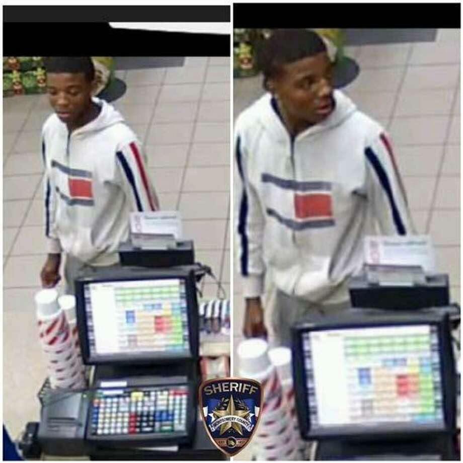 The Montgomery County Sheriff's Office seeks the public's assistance to identify the fifth suspect accused of following a woman back to her Magnolia home and robbing her at gunpoint. Photo: MCSO