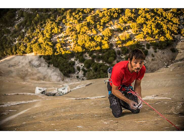 Kevin Jorgeson on the wall.
