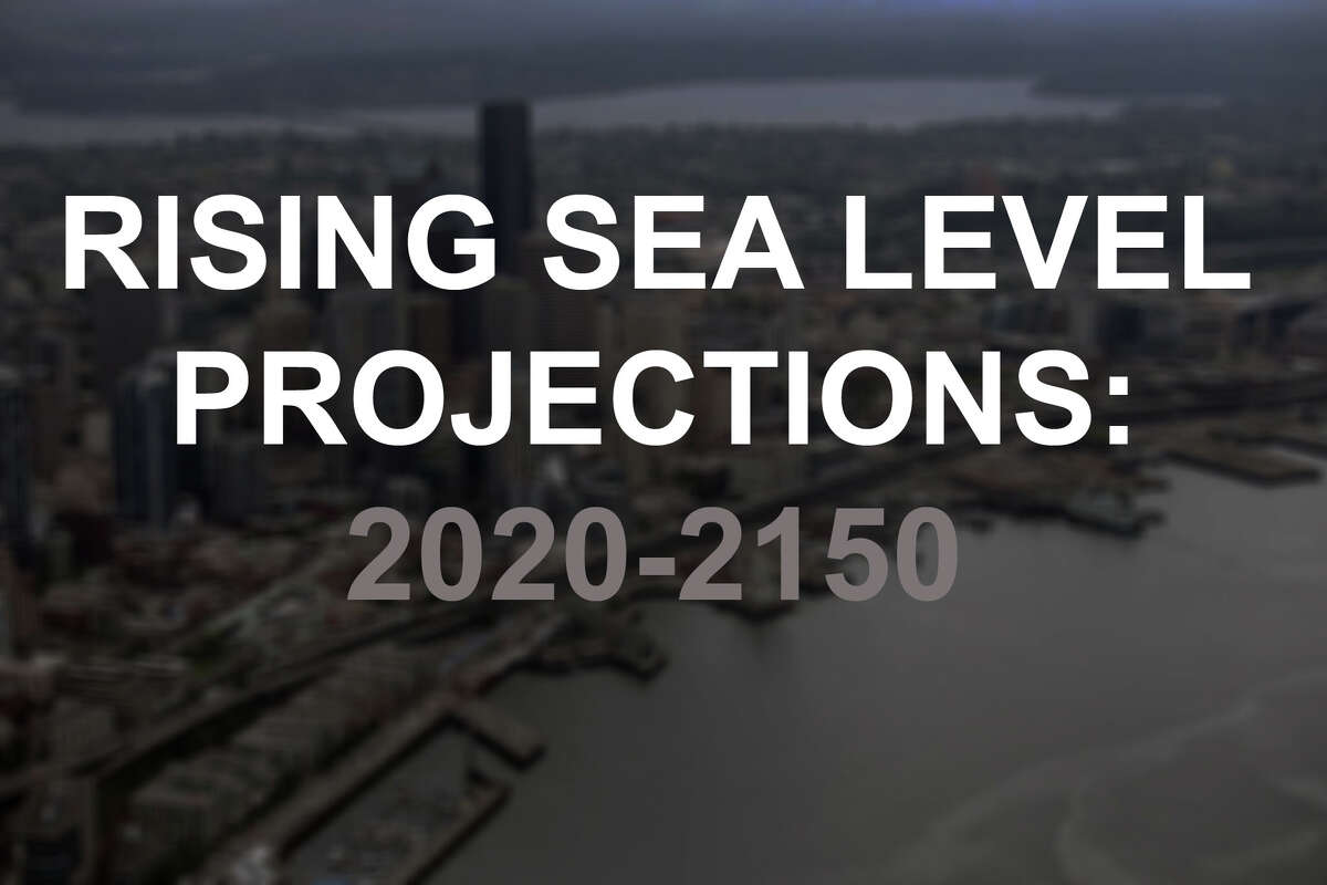 What will sea levels be in Washington port and waterfront towns two years from now? Thirty-two, 52, 82 or even 132 years from now? Click through to see what the data tells us about rising sea levels.