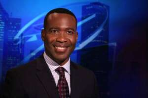 Keith Garvin, KPRC reporter and anchor, will serve as master of ceremonies at Willow Fork Drainage District's salute to Harvey's Heroes.