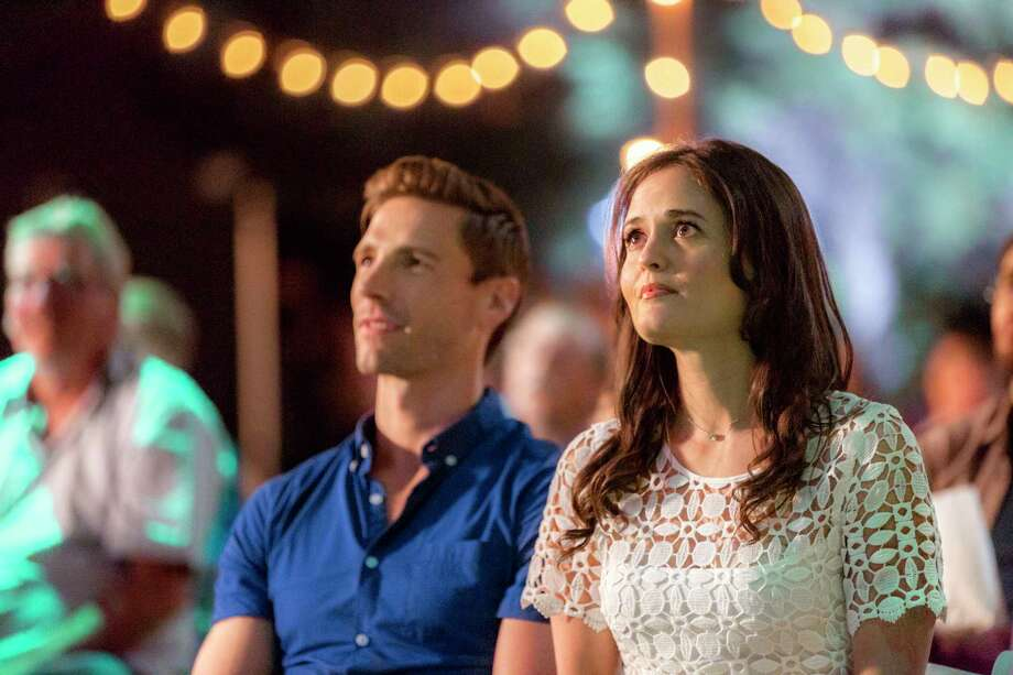 Known for modernizing outdated spaces, Hannah?s show ?Love in Design? is tasked with renovating a historic manor in her hometown. Hannah is up for the challenge, but she?s not ready to work with the overseeing architect, her ex-boyfriend Jeff, especially since their attraction hasn?t waned. In fact, the network loves their onscreen banter, and the town is wowed by a rough-cut episode. But revamping such an old building and having an opinionated ex on set is hard, and Hannah must make their Ying/Yang approaches blend. At the same time, maybe Jeff can reach beyond his comfort zone and overcome the distance between them.  Photo: Andrew Walker, Danica McKellar  Credit: Copyright 2018 Crown Media United States LLC/Photographer: Steven Ackerman Photo: Steven Ackerman / © Crown Media United States, LLC