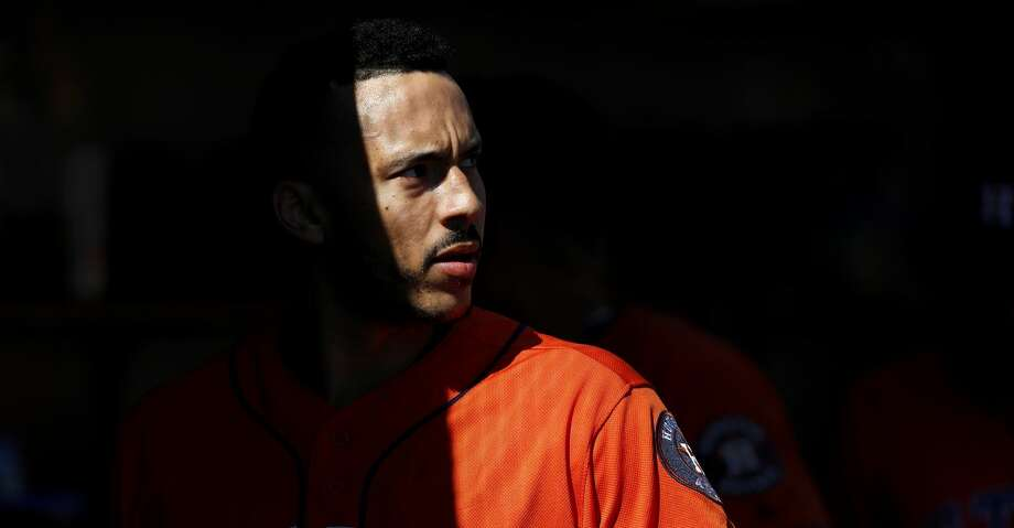 PHOTOS: Astros game-by-game Houston Astros' Carlos Correa watches against the Detroit Tigers in the fifth inning of a baseball game in Detroit, Wednesday, Sept. 12, 2018. (AP Photo/Paul Sancya) Browse through the photos to see how the Astros have fared in each game this season. Photo: Paul Sancya/Associated Press
