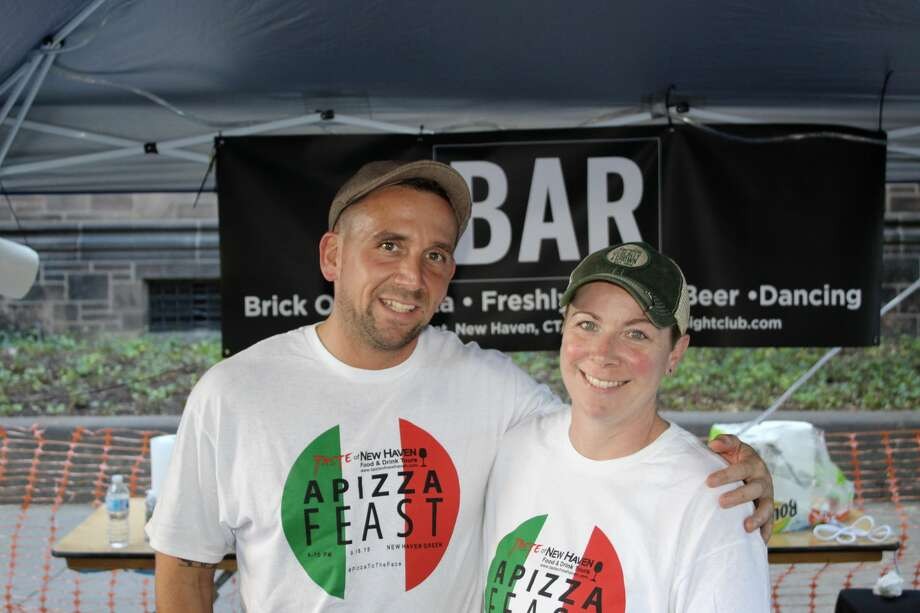 The 4th annual Apizza Feast at the New Haven Grand Prix offers some of the best pizza in the countrywhile serving a wide range of amazing local food and beverages through downtown New Haven's theater district. Were you SEEN? Photo: Kelly Ryan