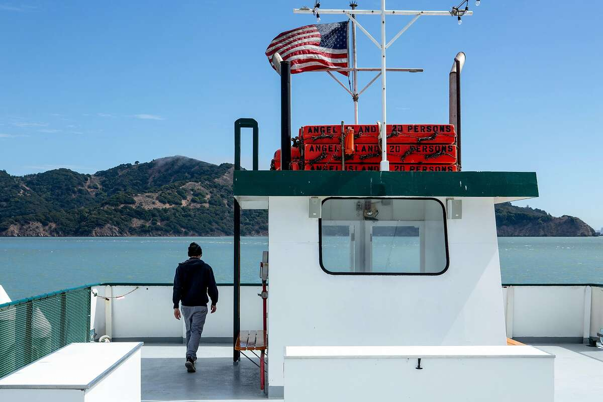 Sam McDonogh at the Angel Island ferry, Friday, Sept. 14, 2018, in Tiburon, Calif. McDonogh is part of the family business Angel Island - Tiburon Ferry.