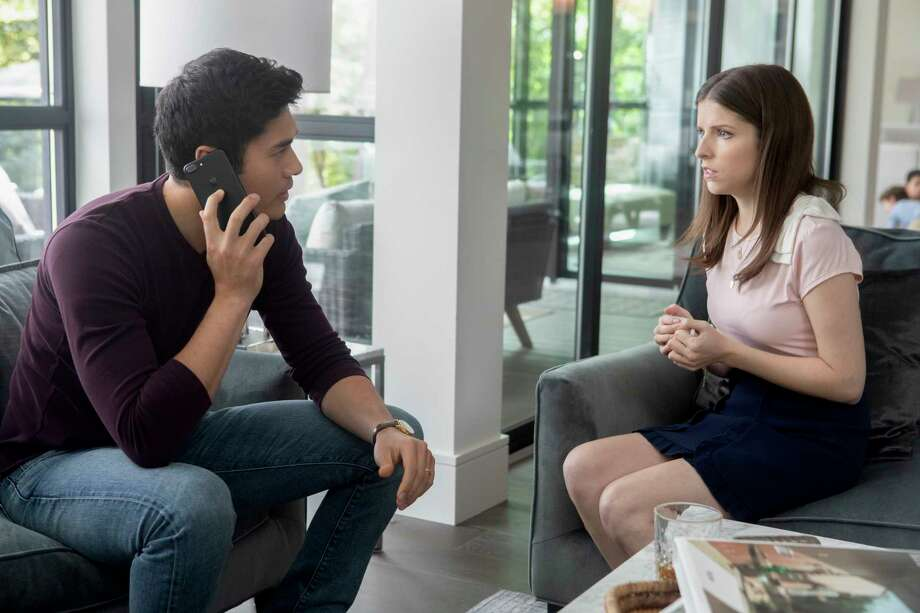 "This image released by Lionsgate shows Henry Golding, left, and Anna Kendrick in a scene from ""A Simple Favor."" (Peter Iovino/Lionsgate via AP) Photo: Peter Iovino / LIONSGATE"