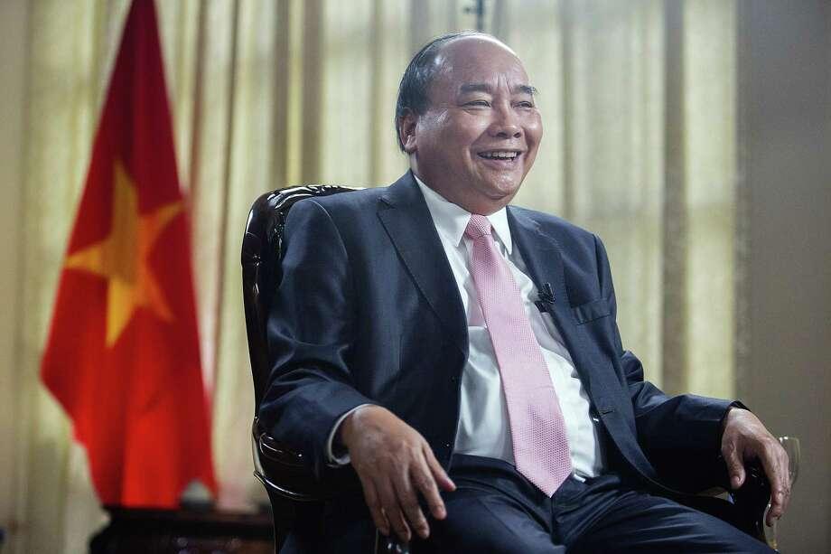 Vietnames Prime Minister Nguyen Xuan Phuc in Hanoi, Vietnam, on Sept. 10, 2018. Photo: Bloomberg Photo By Maika Elan. / © 2018 Bloomberg Finance LP
