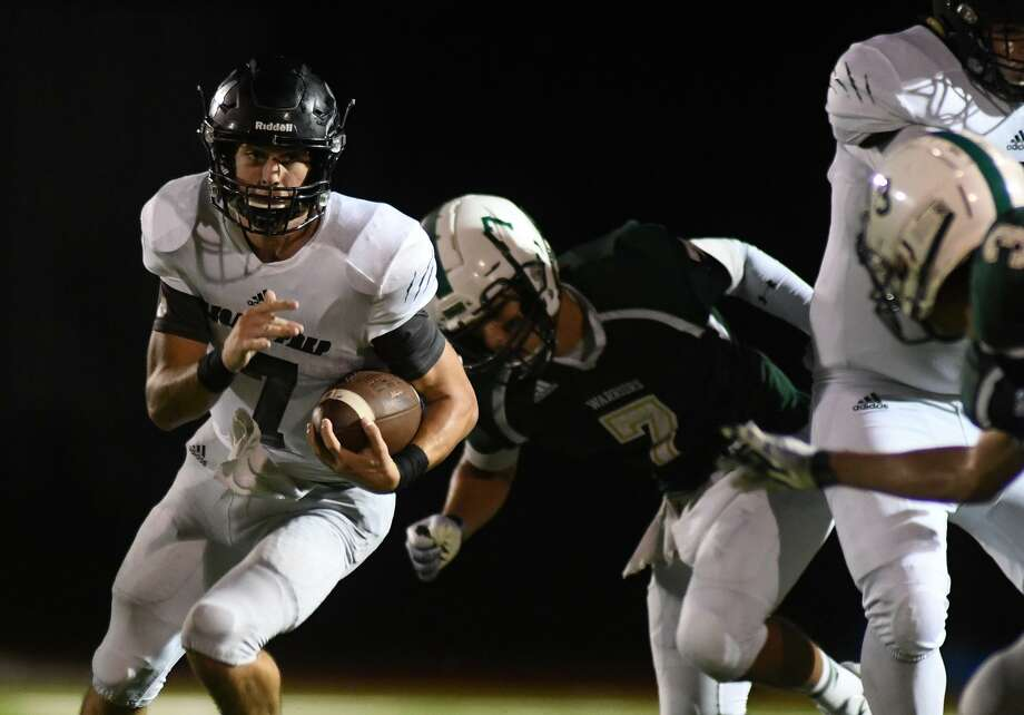 Legacy Prep senior quarterback Jack Granick has rushed for more than 100 yards in two straight games, victories over TWCA and Northland Christian. Photo: Jerry Baker, Houston Chronicle / Contributor / Houston Chronicle