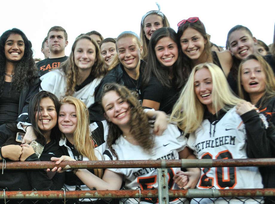 Were you Seen at the Bethlehem vs. Guilderland high school football game Sept. 14, 2018, at Bethlehem High School in Delmar, NY? Photo: Rob Jonas