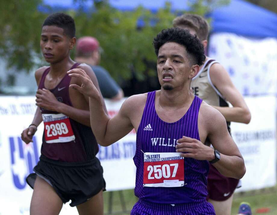 Jaime Vega, of Willis, competes in the Class 5A boys race during the UIL State Cross Country Championships at Old Settlers Park, Saturday, Nov. 4, 2017, in Round Rock. Photo: Jason Fochtman, Staff Photographer / Houston Chronicle / © 2017 Houston Chronicle