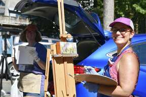 The 2nd Annual Plein Air Festival was held Friday and Saturday, Sept. 14-15, 2018, with attendees participating in a variety of outdoor arts classes throughout the historic village of Round Lake, NY. Classes were taught by master artists and photographers, and the event culminated with a reception and sale of artwork created during the festival. The festival was hosted by the Malta League of Arts, with proceeds going toward a scholarship fund for student artists.
