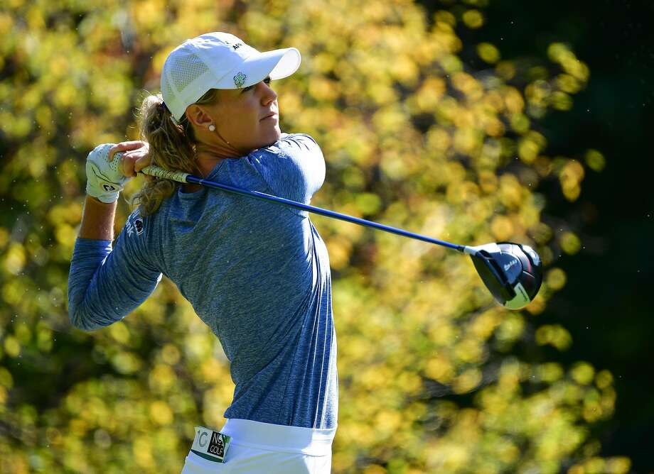American Amy Olson is going after her first major win. Photo: Stuart Franklin / Getty Images