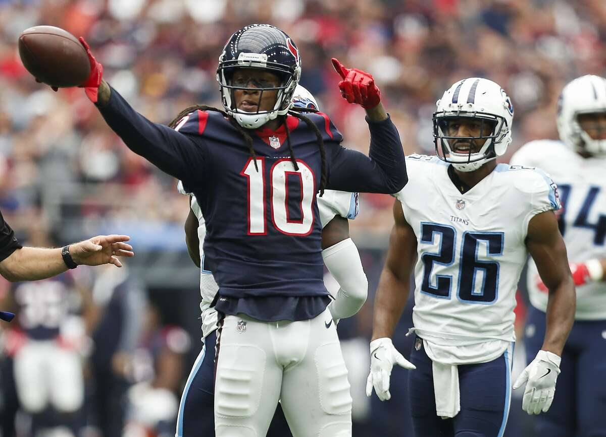 19. Channeling disappointment into rage Early in the 2017 season, the Texans lost a tough 36-33 road game to the Patriots in Week 3. The next week, Houston elected to take out its frustrations on the Titans to the tune of a 43-point thrashing, 57-14.