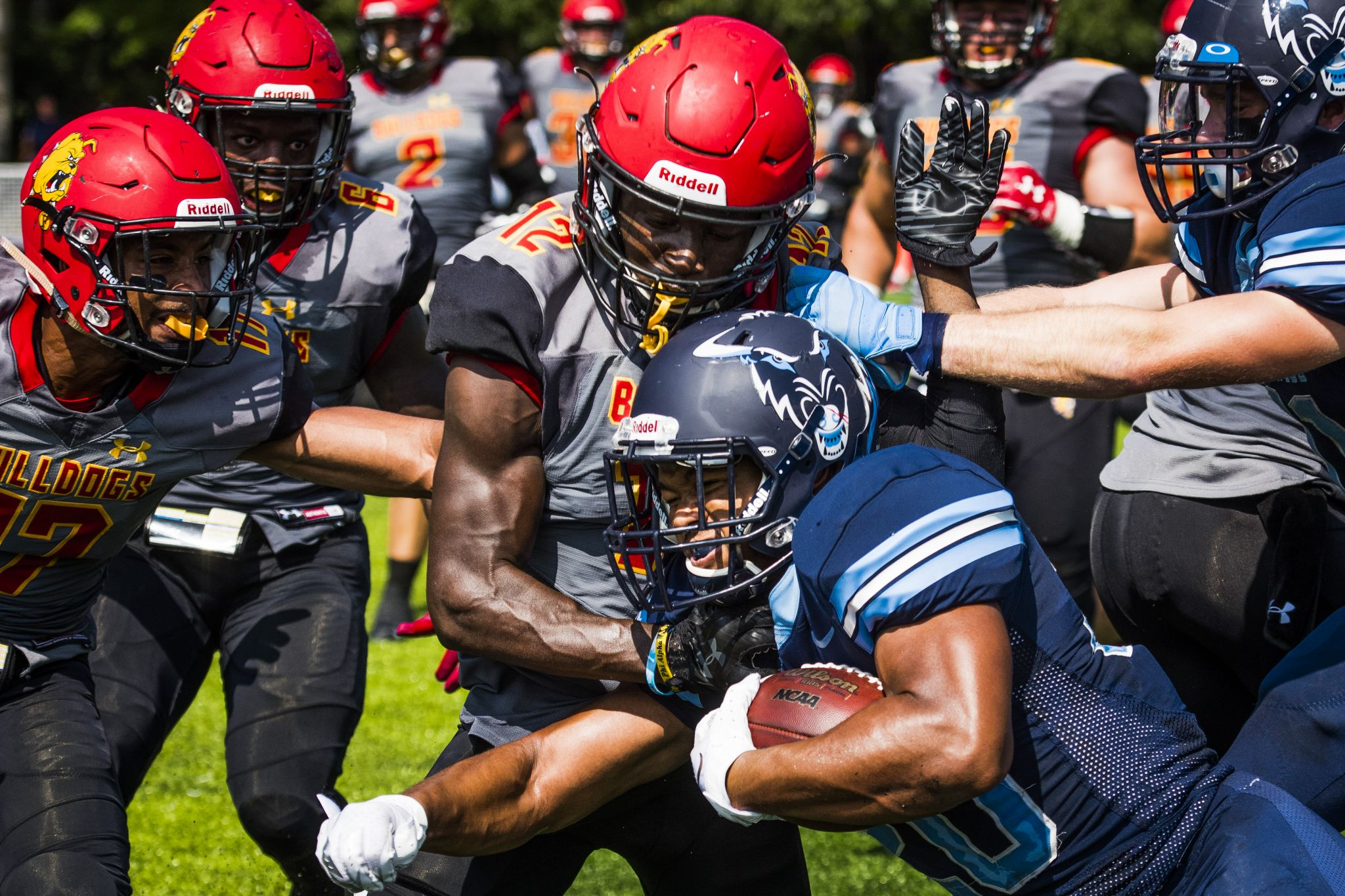 Nu Football Throttled By No 6 Ferris State Midland Daily News