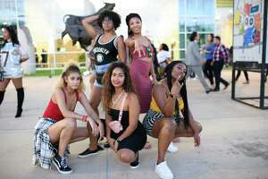 Fans at NRG Stadium in Houston TX to see Beyonce' and Jay-Z's On The Run II Tour on Saturday, September 15, 2018.