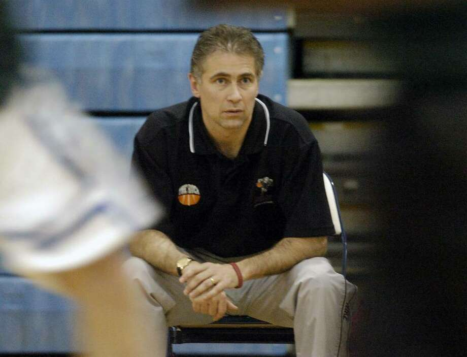 Mark Sausville is stepping down as head basketball coach at Schenectady High to spend more time following the career of his 14-year-old son, Alex, who will be a freshman at Scotia this fall. (Times Union archive) Photo: JAMES GOOLSBY / ALBANY TIMES UNION