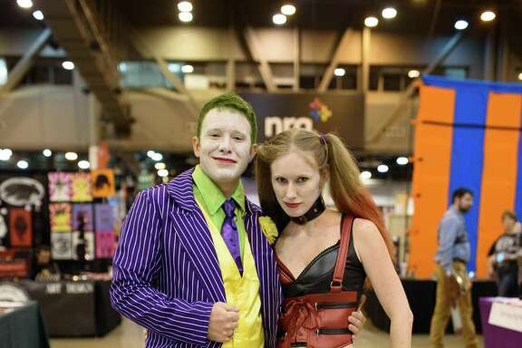 Fans at Fandemic Comic Convention at NRG Center in Houston Tx on Friday September 14, 2018