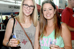 Kaylee Genest and Courtnery Thompson were at the 4th annual Craft Beer Fest at the Beaumont Event Centre. Regional and national independent breweries offered seasonal and traditional beers. The popular event sold out hours after tickets went on sale. Saturday, September 15, 2018 Kim Brent/The Enterprise