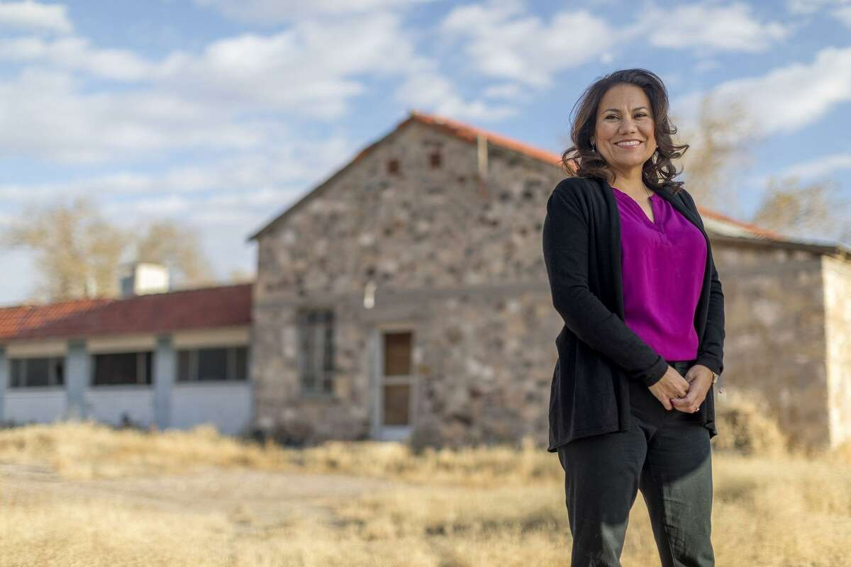 """Veronica Escobar is on the brink of making Texas history. The Democrat is expected to win her race in a solidly Democratic El Paso district to replace U.S. Rep. Beto O'Rourke in the U.S. House. As pundits declare 2018 the """"Year of the Woman,"""" a win for the former judge from El Paso would make her the first Latina woma n Texas sends to Washington, D.C. And if Houston Democrat Sylvia Garcia (not pictured) also wins her election, Texas will send two Latinas to Congress in 2019."""