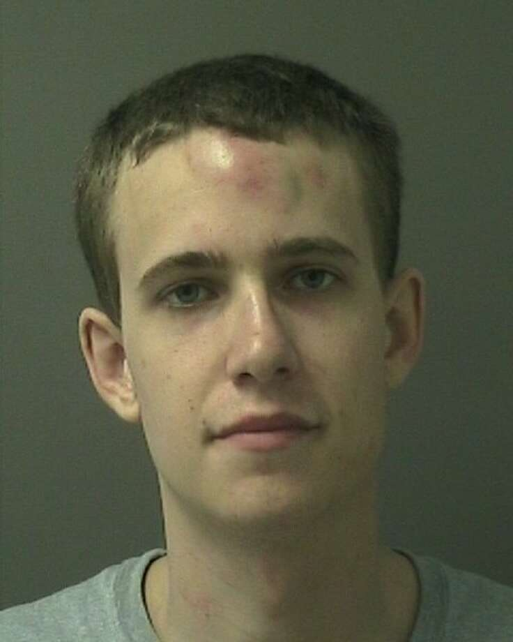 The Warren County Sheriff's Office said David Symer, 24, almost ran down a family in Aviation Mall Friday, Sept. 14, 2018. The sheriff's office said Symer also injured a deputy and was Tasered. Photo: Warren County Sheriff's Office