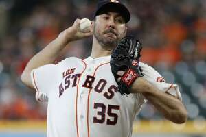 Justin Verlander struck out the first five batters he faced Sunday and finished with 11 K's in improving to 16-9. His 269 strikeouts for the season match his personal high.