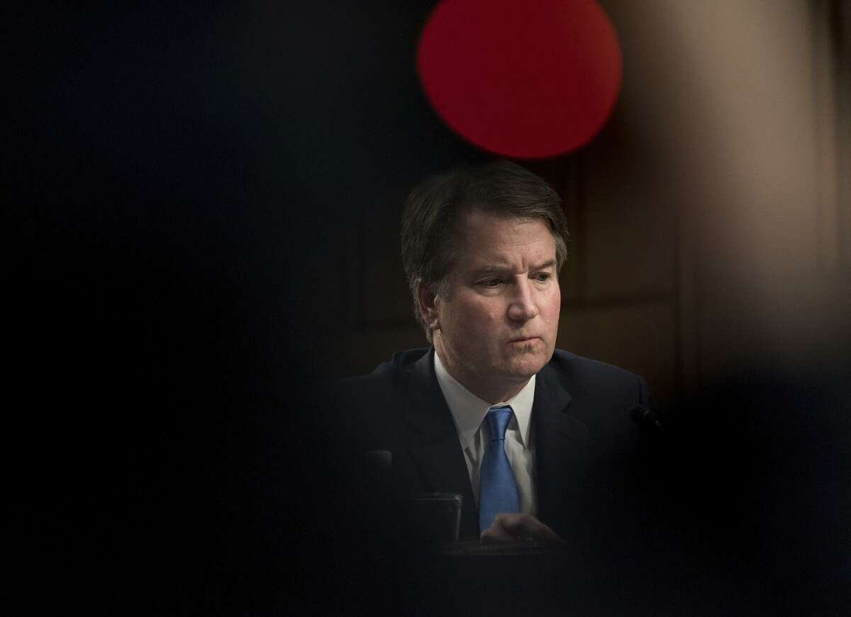 Supreme Court nominee Brett Kavanaugh listens at his confirmation hearing before the Senate Judiciary Committee on Sept. 5.