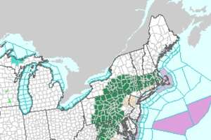 Flood warnings extend in the northeast because of heavy rains from the remnants of Hurricane Florence on Monday, Sept. 17, 2018